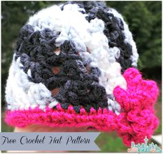 Crochet How To - Working with Variegated Yarns and Free Hat Patterns   Seattle Lifestyle Blog