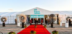 Art Boca Raton March 15-18, 2018 🎨Enjoy Complimentary Passes from Miami Art Scene™ via link --> Art Boca Raton returns for its 3rd edition to the International Pavilion at Florida Atlantic University on the grounds of the Research Park at FAU showcasing premier contemporary work, modern masters, and emerging art, sculpture, and photography.