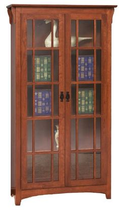 Mission Bookcases - Amish Furniture 3082