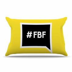 East Urban Home 'Flash Back Friday' Pillow Case