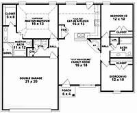 Free House Plan Zambian 3 Bedrooms Yahoo Image Search Results Free House Plans One Level House Plans Bedroom House Plans