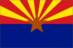 Arizona State Flag - click to see all state flags
