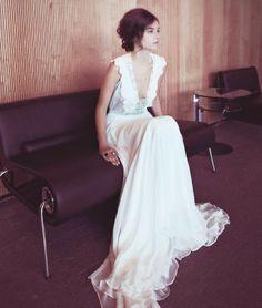 Trendy Wedding, blog idées et inspirations mariage ♥ French Wedding Blog: {la robe du jour} Zahavit Ttshuba