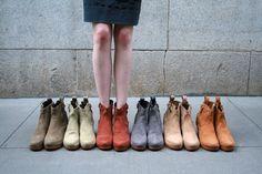 boots, boots, boots, boots, boots, boots.