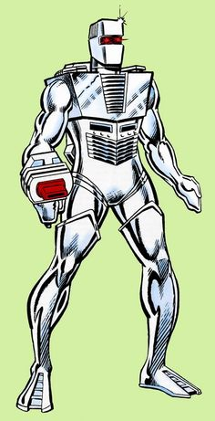 Rom, Spaceknight by Sal Buscema.