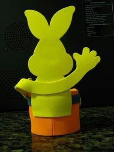Conejo trasera