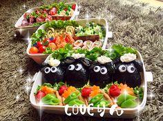 LOVEりん's dish photo ひつじのショーンで運動会弁当 | http://snapdish.co #SnapDish #キャラ弁 #お弁当 #運動会