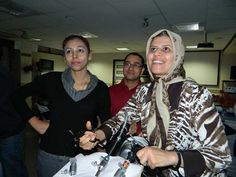 Dr. Suhani Maharajh and Dr. Tahereh Salari are learning hands on training at World Laparoscopy Hospital. For more detail please log on to www.laparoscopyhospital.com