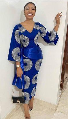 Ankara Short Gown, Short African Dresses, Short Gowns, Latest African Fashion Dresses, African Print Dresses, Ankara Gowns, Ankara Fashion, Ankara Dress, African Prints