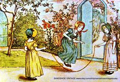 Skipping by Kate Greenaway