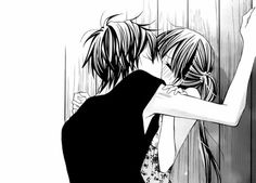 Ah, I've always wanted to try this type of kiss. I wonder what manga this is from. Couple Manga, Anime Love Couple, Cute Anime Couples, I Love Anime, Couple Stuff, Awesome Anime, Got Anime, Anime Guys, Manga Anime
