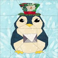 Quilt Art Designs: Day 5 - 12 Days of Christmas