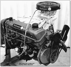 1960 Valiant Hyperpak, a $400 option that included a very long-runner aluminum intake manifold topped by a Carter AFB four-barrel carb, that had took advantage of the resonant ram effect to boost torque at 4500 rpm, perfect for powering out of corners.