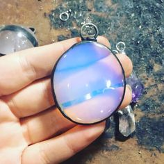 Opalite brings peace & serenity to all. Releases fears & worries. Softens harsh atmospheres & attracts positive light energies.