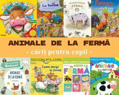Cărți cu ANIMALE DE LA FERMĂ - cărți pentru copii