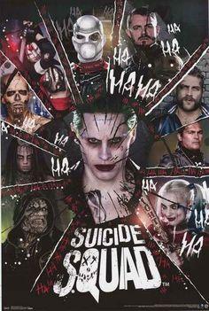 Suicide Squad Movie Cast Poster 22x34 – BananaRoad
