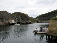 Quidi Vidi Village is one of the many picturesque villages in Newfoundland, Canada. It is only a short drive from downtown St. John's and well worth a visit for its beautiful scenery. Newfoundland Canada, Newfoundland And Labrador, Natural Scenery, Beautiful Scenery, St John's, Beautiful Islands, East Coast, Great Places, Norway