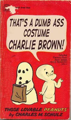 Iconic Comic Strip Parodies - Paperback Charlie Brown Pokes Fun at Beloved Peanuts Characters (GALLERY)