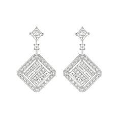 Chanel Café Society Broadway earrings