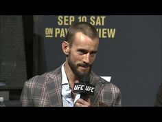 Here's everything CM Punk said during the UFC 203 pre-fight press conference…