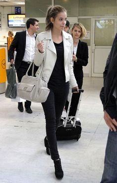 Barbara Palvin Photos Photos - Hungarian model, Barbara Palvin gives a smile as she makes her way through Nice Cote d'Azur Airport to catch a departing flight after attending the 65th Annual Cannes Film Festival. - Barbara Palvin Leaves Cannes