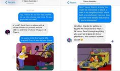 The Simpsons fans dupe 7 News by bombarding them with cartoon refernces | Daily Mail Online