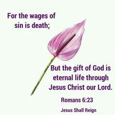 Romans 6:23 KJV