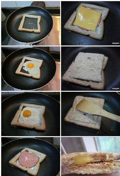 Have A Funny Breakfast Every Morning - Find Fun Art Projects to Do at Home and Arts and Crafts Ideas Cute Breakfast Ideas, Funny Breakfast, Breakfast Desayunos, Creative Desserts, Creative Food, Fun Cooking, Cooking Recipes, Breakfast Popsicles, Gourmet Cakes