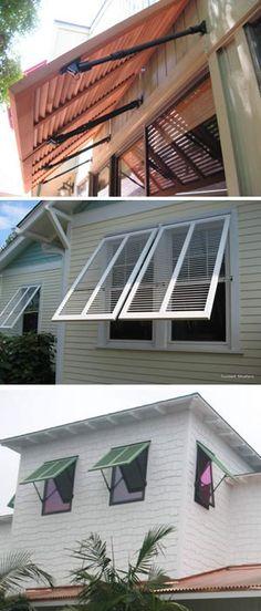 Bahama Shutters | Custom Bahama Window Shutters Information