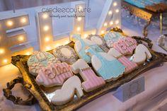 Cinderella Cookies at Ella's Cinderella Sweet Table - Candee Couture Dallas, Texas