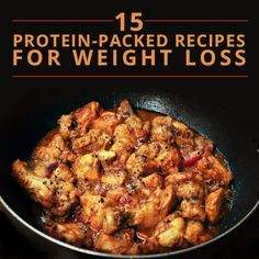 15 Protein-Packed Recipes for Weight Loss, including this One-Pot Black Pepper Chicken that readers love! #proteinrecipes
