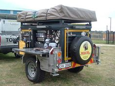 adventure camping traiker | Off Roading 4x4 Trucks Trailers off road utility and camping trailers ...