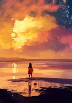 Inspirationally Sane By Art And Music Wallpaper Animes, Anime Scenery Wallpaper, Animes Wallpapers, Wallpaper Quotes, Screen Wallpaper, Phone Wallpapers, Fantasy Landscape, Landscape Art, Fantasy Art