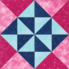 The GO! Peace & Plenty Block - FREE Quilt Block Patterns Downloads #quilting #diy #decor