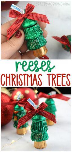 Reeses Chocolate Christmas Trees