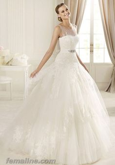 99 Beauty and Elegant Tulle Ball Gown Bridal Wedding Dresses 2961f2530b2e