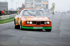 The Alpina-BMW 3.0 CSL driven by Niki Lauda and Peter Joisten at the Touringcar Grand Prix 1973 (qualifying: 8:17.8)