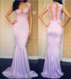 Pink Sweet Dress Fashion Women Mermaid Dress Sleeveless