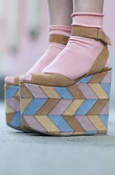 In search of flatforms this thick.