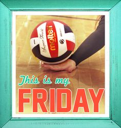 What are you up to this Friday? #volleyball #molten