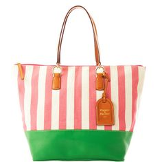 $228.00 Dooney & Bourke: Linen O-Ring Shopper.  They just keep bringing the heat!