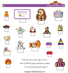 these printables could be used as cupcake picks or scrap book art