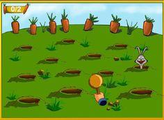 Este conejo se come tu plantación de zanahorias.. Atrápalo!  http://mundobanana.com/Magic-rabbit-401.html