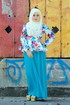 hijab style.. find more on Instagram @cliquemates