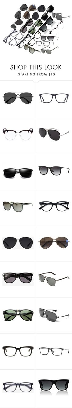 """""""Sunglasses"""" by sagaltheophilmarak on Polyvore featuring EyeBuyDirect.com, Yves Saint Laurent, Christian Dior, Ray-Ban, Gucci, Bally, Cutler and Gross, Express, Under Armour and Belstaff"""