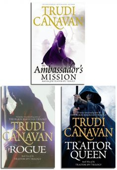 Traitor Spy Trilogy Collection of 3 Books by Trudi Canavan #TraitorSpy #Spy #Rogue #TraitorQueen #AdultFiction #AmbassadorsMission #book http://www.snazal.com/traitor-spy-trilogy-collection-trudi-canavan-3-books-set--DEALMAN-U5-TraitorSpy-3bks.html