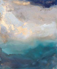 "Saint Helena ~ artist Julia Contacessi, c.2016; acrylic on canvas, 60"" x 72"" #art #painting #abstract"