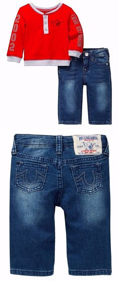 Baby Boys Clothing And Accessories: Nwt ~ True Religion Singing Buddha And Jean 2-Piece Set Infant Boy Size 3M -> BUY IT NOW ONLY: $41.49 on eBay!