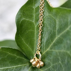 Erica Sara Designs Store - Droplet Necklace, $50.00 (http://store-1c4ee.mybigcommerce.com/droplet-necklace/)