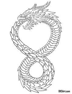 Dragon Tattoo Vector, Dragon Tattoo Sketch, Red Dragon Tattoo, Dragon Tattoos For Men, Dragon Tattoo Designs, Arm Tattoos For Guys, Tattoo Designs Men, Tattoo Design For Men, Mini Tattoos